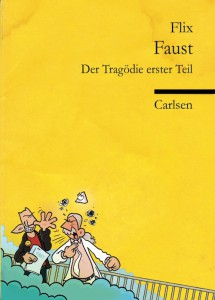 Rezension | Faust von Flix | Goethe | Graphic Novel | Humor | lustig | Comic | Adaption | Parodie | tintenmeer.de