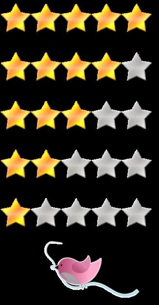 bewertungssterne neu_mit piepmatz_kleine