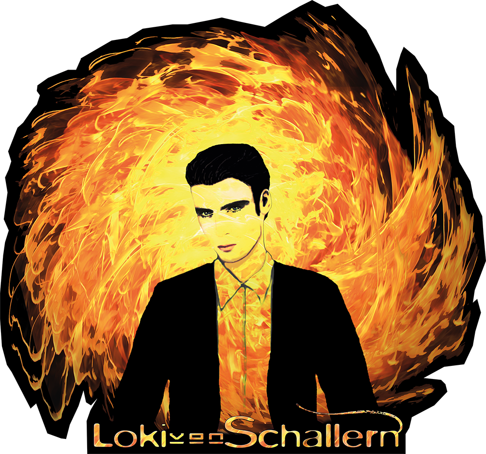 Ganzkörper Loki Feuer