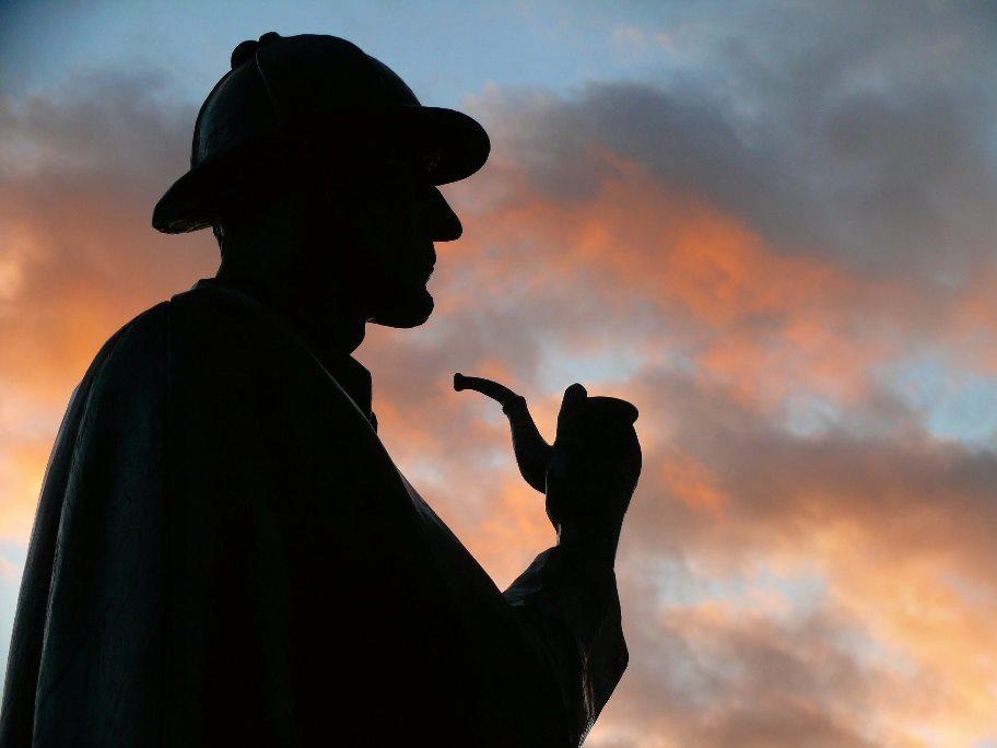 Sherlock Holmes Statue Baker Street (Foto: dynamosquito auf flickr)
