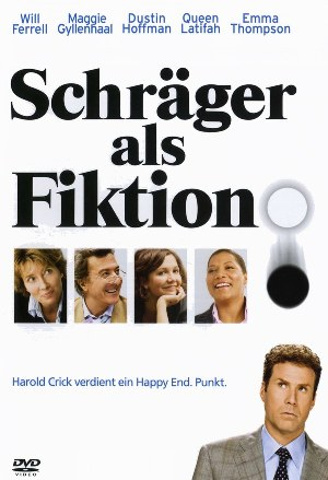 Rezension | Schräger als Fiktion | stranger than fiction | Will Ferrell | Maggie Gyllenhaal | Dustin Hoffman | Queen Latifah | Emma Thompson | Komödie | tintenmeer