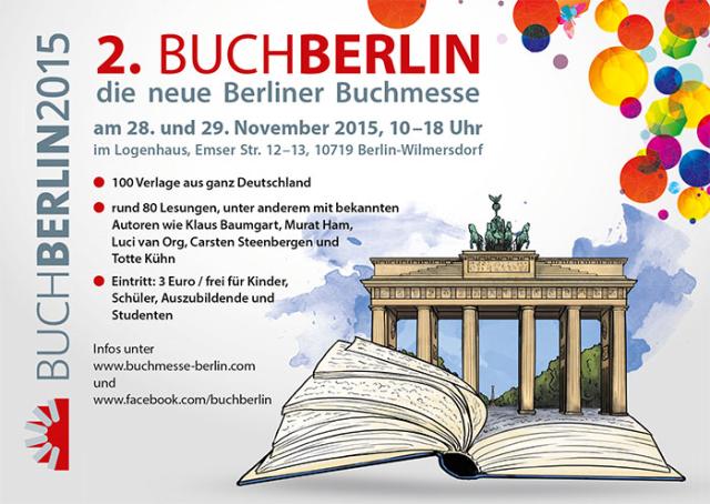 Plakat Buch Berlin 2015 2