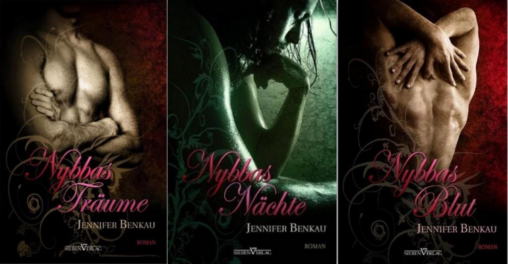 Rezension | Nybbas Trilogie | Jennifer Benkau | Erotik | Sieben Verlag | Dämon | Romantasy | Romance | Queer | Leidenschaft | dark | sexy | tintenmeer |