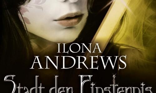Ilona Andrews Stadt der Finternis Feind Cover