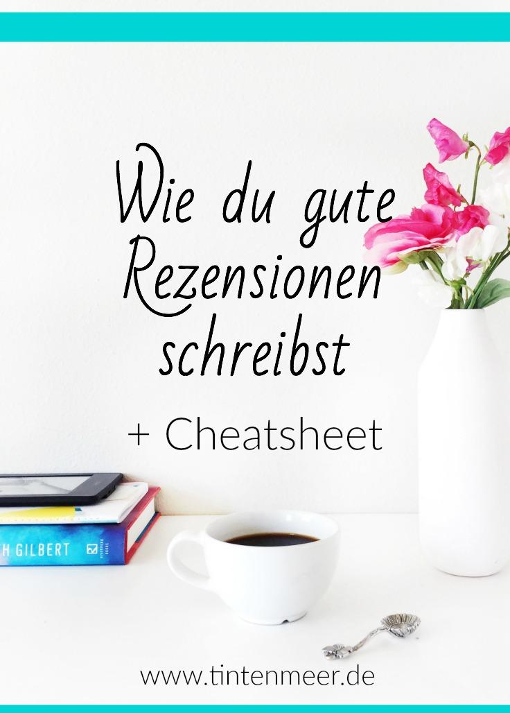 Rezension schreiben | Buchblog | bloggen | Tipps | Cheatsheet | Tutorial | Hilfe | Anleitung | tintenmeer.de