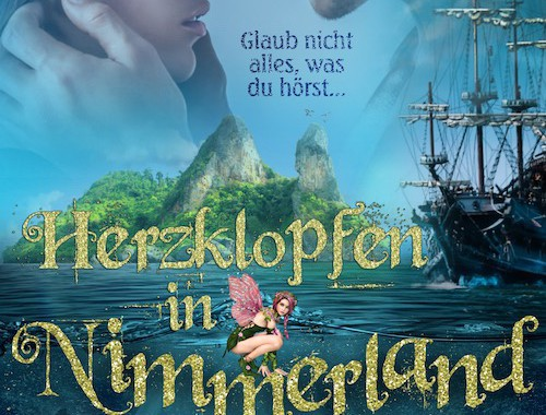 Rezension | Herzklopfen in Nimmerland | Anna Katmore | Fantasy | Romance | Hook | Peter Pan | Liebe | Nimmerland | London