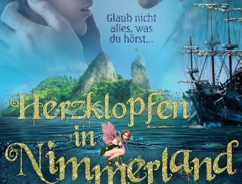 Rezension | Herzklopfen in Nimmerland | Anna Katmore | Fantasy | Romance | Hook | Peter Pan | Liebe | Nimmerland | London