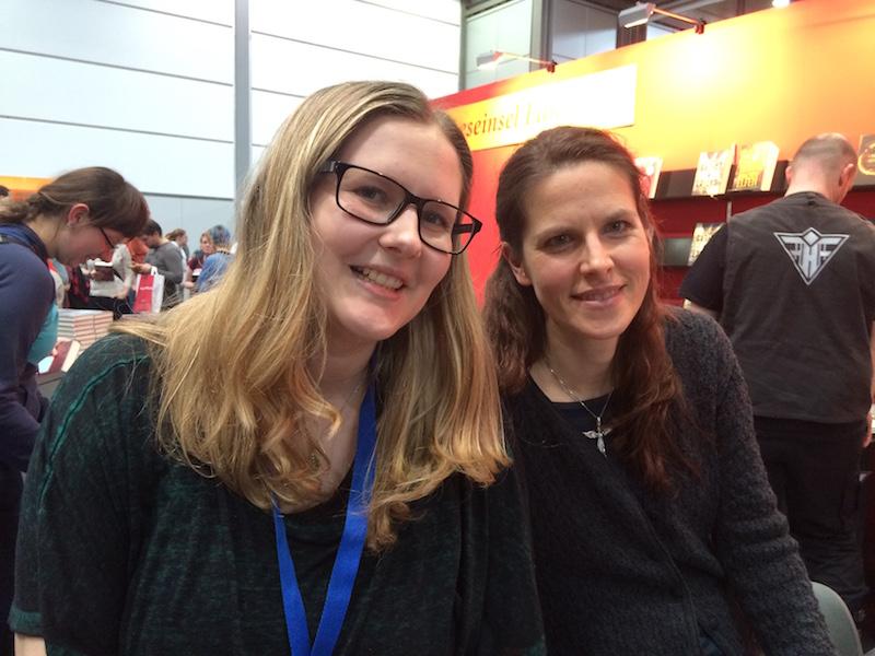 Kristina mit Bettina Belitz