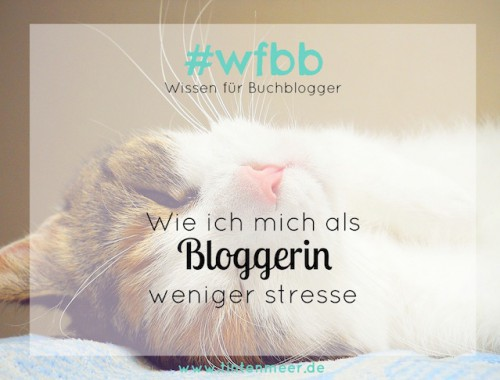 weniger stress bloggen burnout