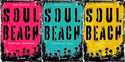 Soul Beach Trilogie Cover