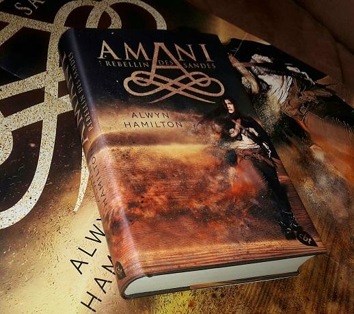Rezension | Amani | Rebellin des Sandes | Alwyn Hamilton | Orient | Wüste | Fantasy | Abenteuer | Random House | Jugendbuch | Magie | tintenmeer.de
