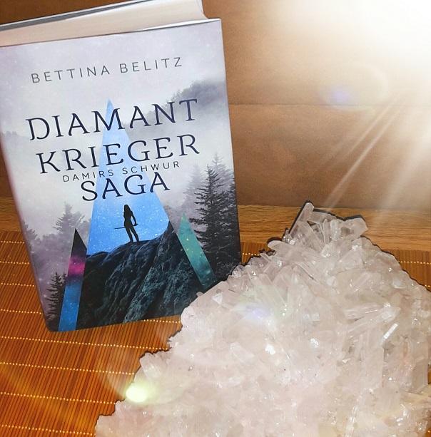 Rezension | Diamantkrieger Saga | Damirs Schwur | Bettina Belitz [ Fantasy | Lovestory | Liebe | tintenmeer.de