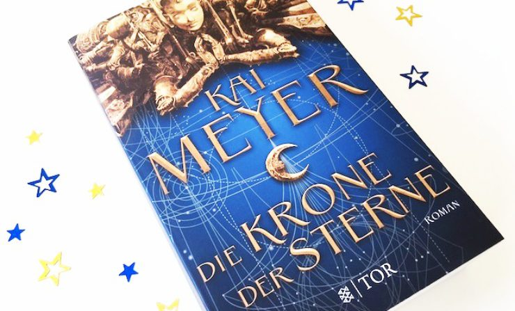 Rezension | Die Krone der Sterne | Kai Meyer | Science Fiction | Fantasy | Weltall | tintenmeer.de