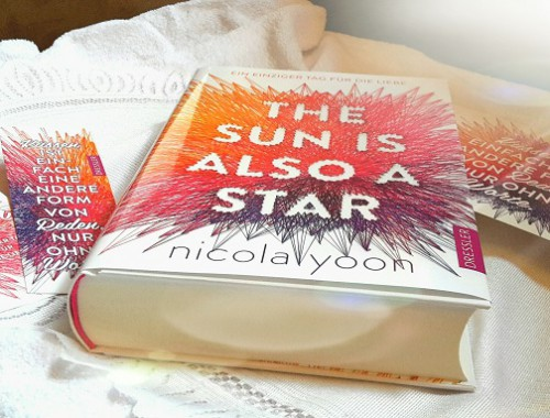 Rezension | The sun is also a star | Nicola Yoon | Jugendbuch | Contemporary | Liebe | Schicksal | Bücher | tintenmeer.de