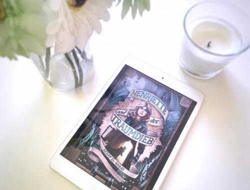 Rezension | Henriette und der Traumdieb | Akram El-Bahay | Kinderbuch | Mädchen | Flammenwüste | Orient | Fantasy | Träume | Ueberreuter | tintenmeer.de
