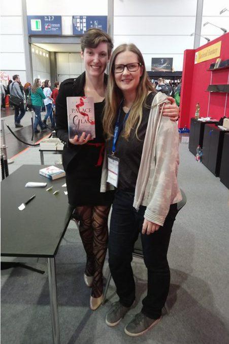 Tintenmeer auf der Leipziger Buchmesse 2018 mit C. E. Bernhard