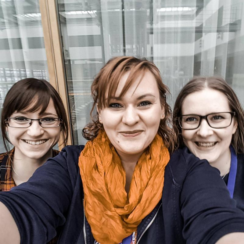 Tintenmeer auf der Leipziger Buchmesse 2018 mit Mika Krüger und Yvonnes Bücherecke