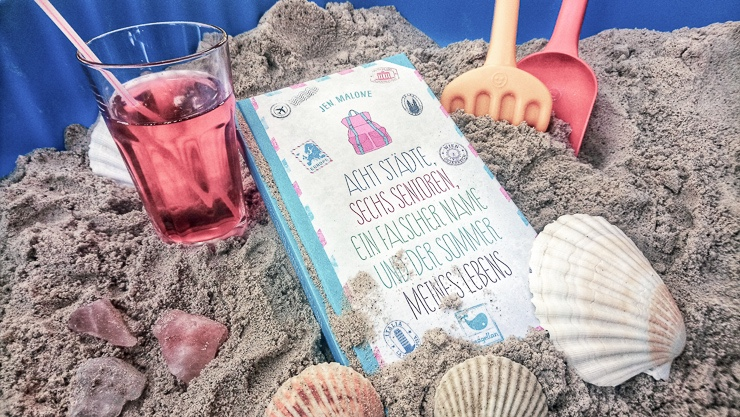 Rezension Acht Städte, sechs Senioren, ein falscher Name und der Sommer meines Lebens von Jen Malone | Jugendbuch | Roadtrip | Reisen | Travel | Magellan Verlag | Romantik | Tintenmeer