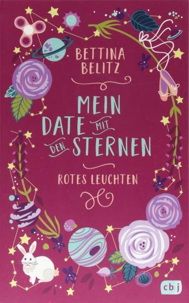 Buchcover Mein Date mit den Sternen 2 – Rotes Leuchten von Bettina Belitz