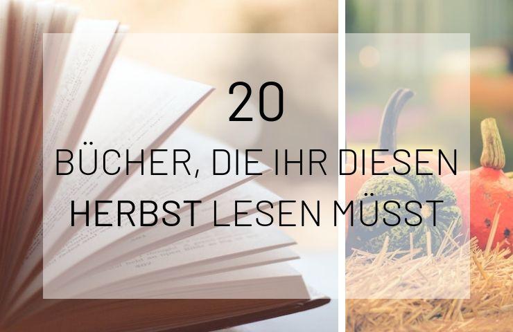 Artikelbild 20 Herbstbücher 2019