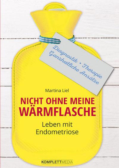 Buchcover Leben mit Endometriose von Martina Liel