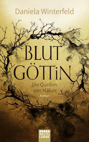 Cover Blutgöttin Daniela Winterfeld