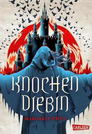 Cover Knochendiebin Die 12 Kasten von Sabor Margaret Owen